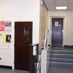 Church Foyer showing the Stair Lift